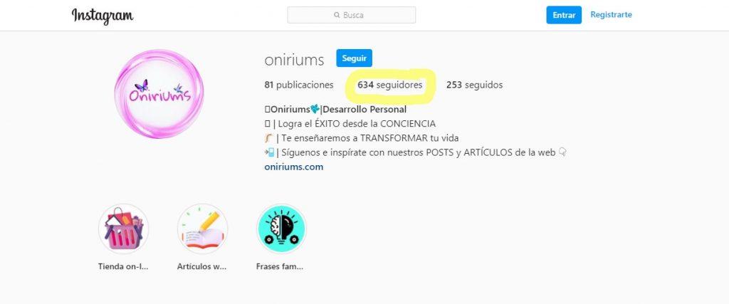 Cómo tener más seguidores en Instagram