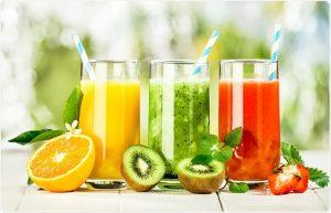 zumos de frutas